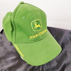 JOHN DEERE OWNER'S EDITION Green Trucker Hat Strap